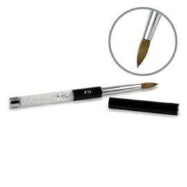 Kolinsky Black Glamour Sculpting BRUSH #10