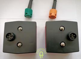 Set GL1 Minipoint Achterlichten 12v incl Lampjes