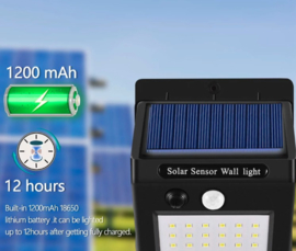 Solar buitenlamp 20 LED Buitenlamp op zonne energie