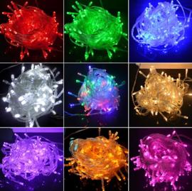 Kerstlampjes 10 meter 100 LED Diverse kleuren