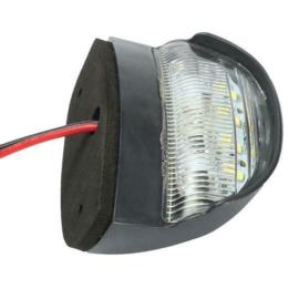 Kentekenverlicht 4 LED 10-30v