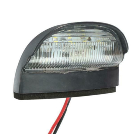 Kentekenverlicht 4 LED 10-30v