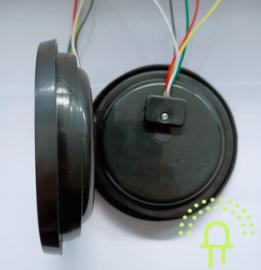 NEON Led Achterlicht inbouw DH3 Groot 10-30v Dynamisch knipperlicht