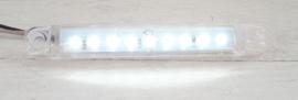 Zij-markeringslampen 9 LED 10-30 Volt Oranje/Rood/Wit