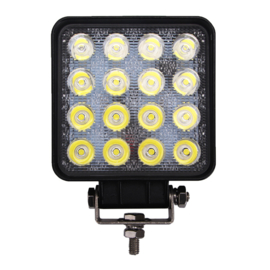 LED Werklamp vierkant 48 watt 10-30v