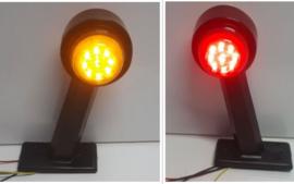 Breedtelamp Oranje/Rood 10-30v 18 LED
