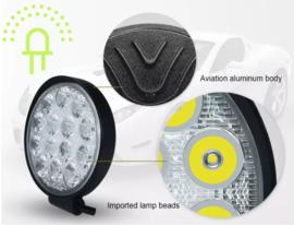 LED Werklamp rond 42 watt 10-30 volt