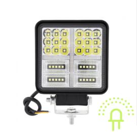 LED Werklamp met Flitser 114 Watt 10-30v