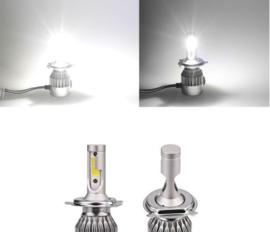 Set van 2 LED Koplampen H1/H3/H4/H7/H8/H9/H11 Budget Line