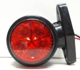 Breedtelamp Rood/Wit 10-30v 10 LED