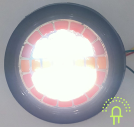 NEON Led Achterlicht inbouw DH5 10-30v Dynamisch knipperlicht