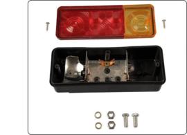 Benson Driekamer Aanhangwagen Achterlicht 210 x 83 mm (Prijs Per Set)