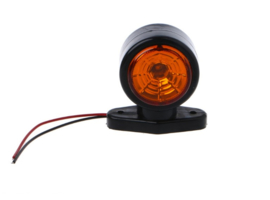 Breedtelamp Oranje/Rood 10-30v 2 HIGH POWER LED