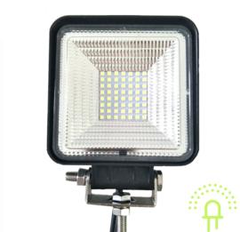 LED Werklamp vierkant 168 watt 10-30 volt
