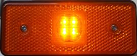 Zij-markeringslamp met reflector 10-30v 4 LED