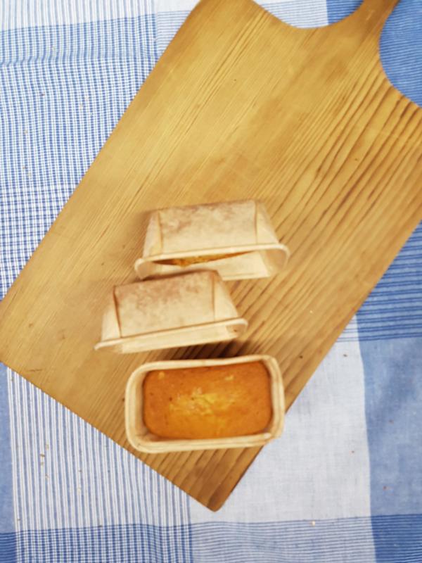 Kleine cakejes (3stuks)