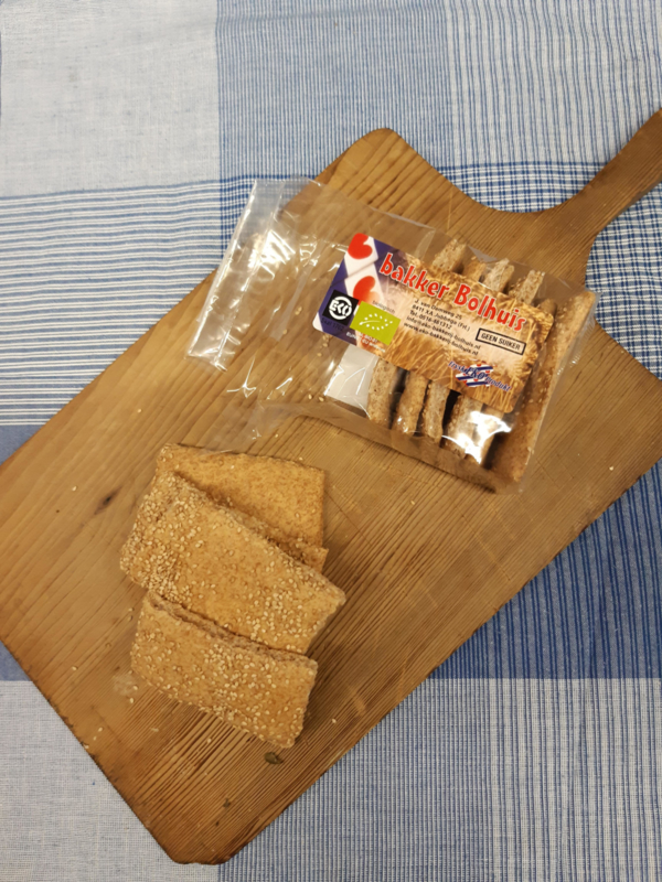Spelt crackers (vegan)