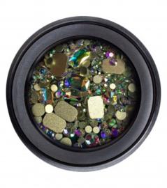Glitterstones #1 Iris square
