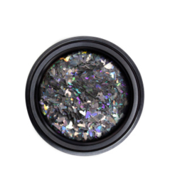 Reflector SHREDS Hologram Silver