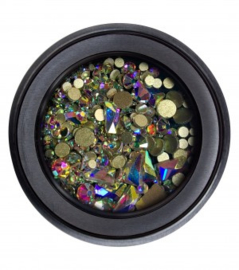 Glitterstones #5 Iris rond
