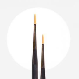 Aquarell painting Brush