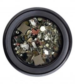 Glitterstones #8 white ruit