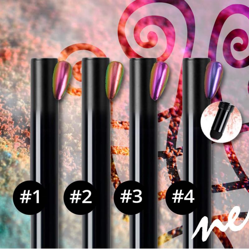 Nail art powder pen set 1