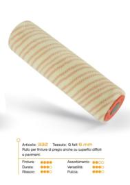 20 cm RollFit G Felt 6mm mm reserve roller