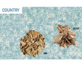 Country, leren tamponeerset incl handschoenen 43127