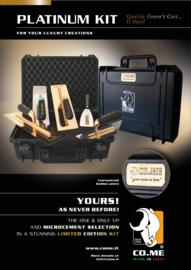 """CO.ME """"Platinum Kit"""" box"""