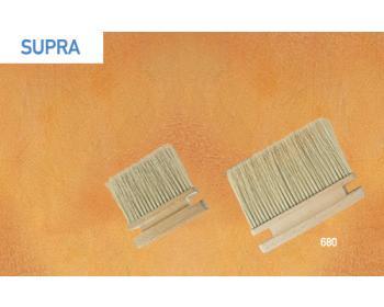 Supra, blokkwast 3x10 houten handvat voor lasuurtechnieken