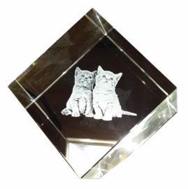 Corner cube 40mm (2D)