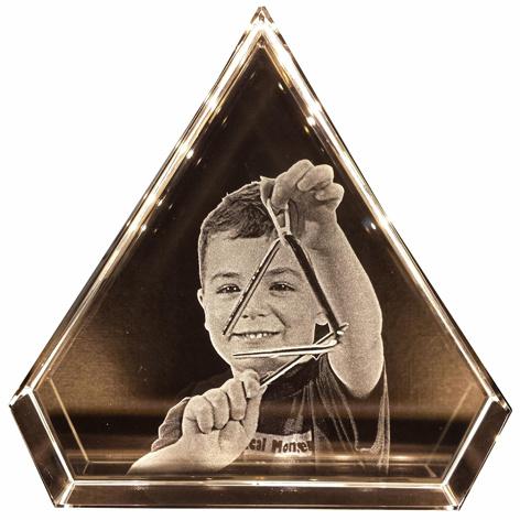 Triangle 100 x 100 x 30mm (2D)