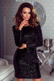 Priscilla Dress Black