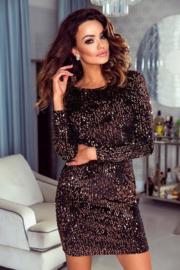 Priscilla Dress Gold