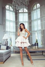 Cléo Dress Wit/Beige