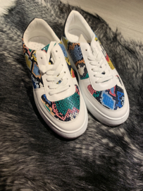 Sneaker black/croco