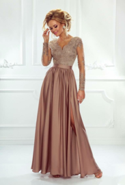 Lisa Dress Caramel