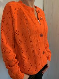 Gilet fel oranje