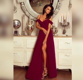 Manon Dress Bordeaux
