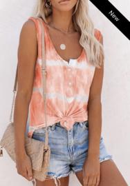 Tie & Dye T-shirt orange