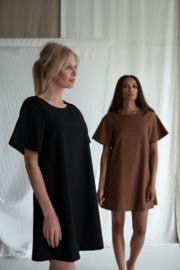AC by Annelien kleed A-lijn bruin