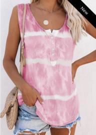 Tie & Dye T-shirt pink