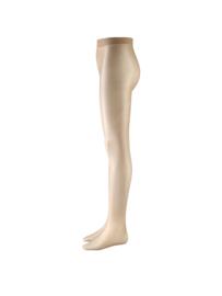 Panty met voet met glans voor kinderen (PK6020)