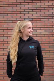 SOOF'IT BUDGET hoodie Zwart voor volwassenen  (088-0058)