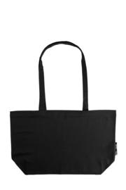 Brede shoppingbag met lange hengsels (O90015)
