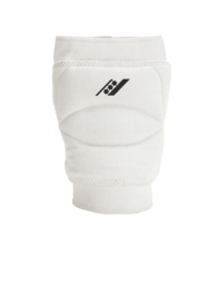Witte kniebescherming met brede sponsvulling (27102-101)
