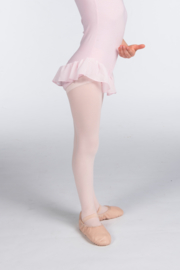 Balletschoenen leer hele zool Volwassenen (PA1000)