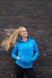 SOOF'IT hoodie Blauw met rits voor volwassenen (O83301)