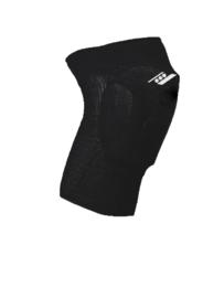 Zwarte kniebeschermers met 3 schokabsorberende delen (27101-201)